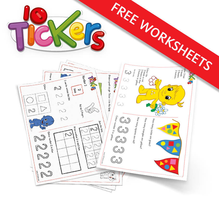 Click for free worksheets.